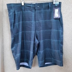 2 for $20 size 34 men hybrid shorts new with tags